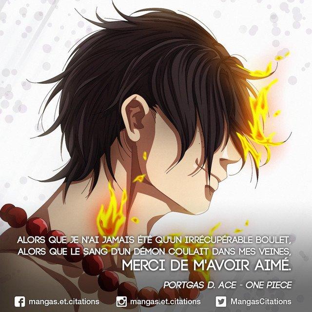 Citation Manga Anime On Twitter Onepiece Portgasdace