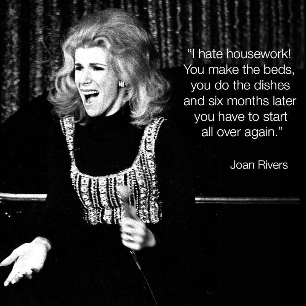 #WordsofJoan #JoanRivers https://t.co/IIj1TCGQKy