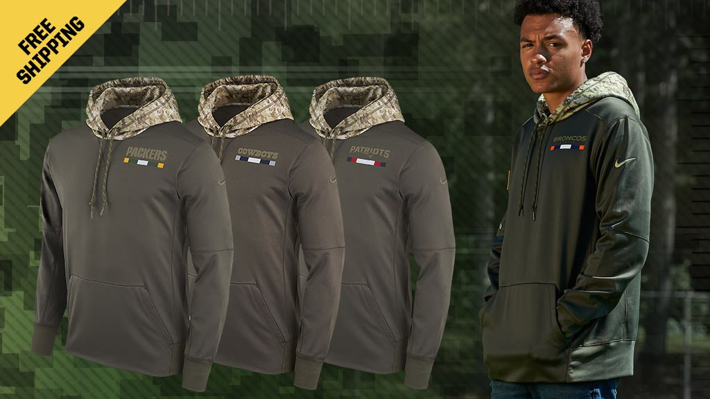 the best attitude 8b31e 13910 Salute Service Hoodie : support sidelines NFL Salute Service ...