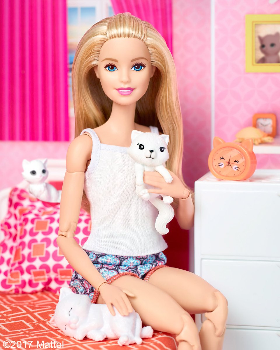 RT @Barbie: How many cats can you spot in this photo? Happy #WorldCatDay! https://t.co/gDcp2EWZDX