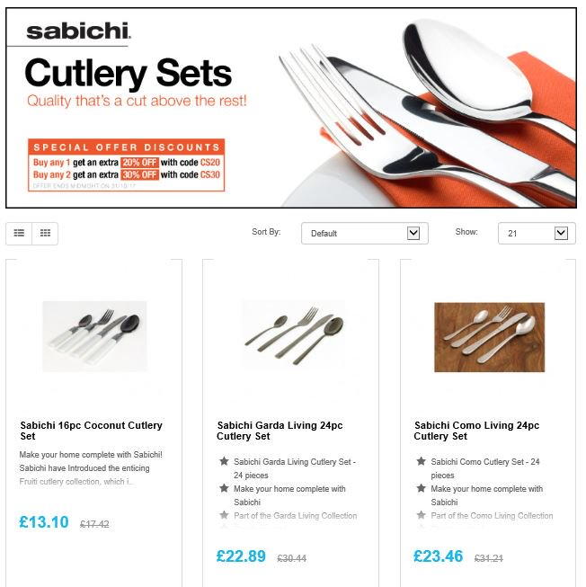 Save 20% on Cutlery this Halloween  http:// ow.ly/jQ0l30gcv6Y  &nbsp;   #RT #Follow #Win  share #MultiBuy any 2 save 30% <br>http://pic.twitter.com/WiylS0Bpr8