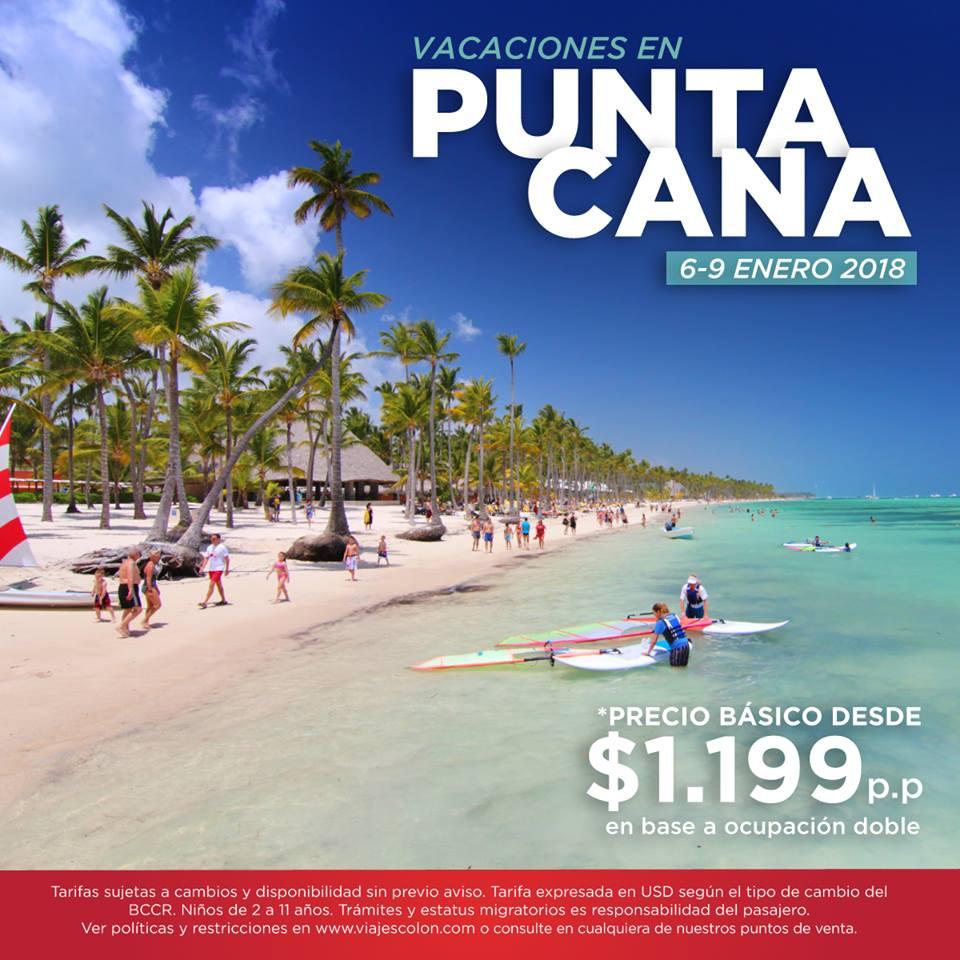 ¡Viva las mejores vacaciones en #PuntaCana! Enero 2018 + Playa una excelente combinación.  reservas@viajescolon.com #Vacaciones #Experiencia https://t.co/9cNeVVEhO9