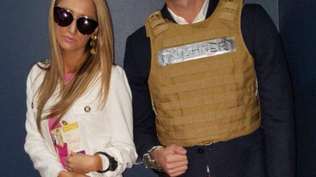 ex obama speechwriter dresses as jared kushner in handcuffs for halloween https