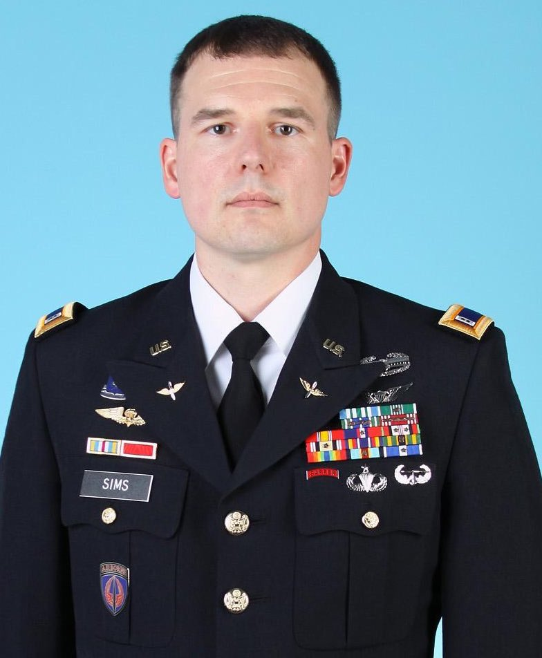 Chief Warrant Officer Jacob M. Sims of the US Army died in Afghanistan on Friday.   And @realDonaldTrump's silence is deafening.