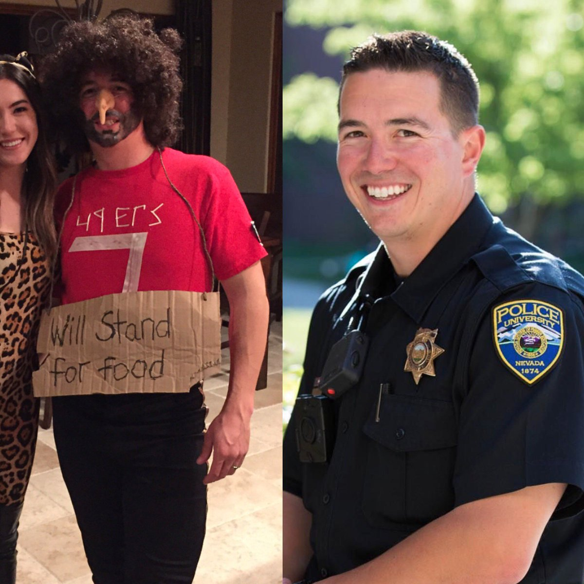 Police Officer's 'Racist' Colin Kaepernick Costume Did Not Go Over Well