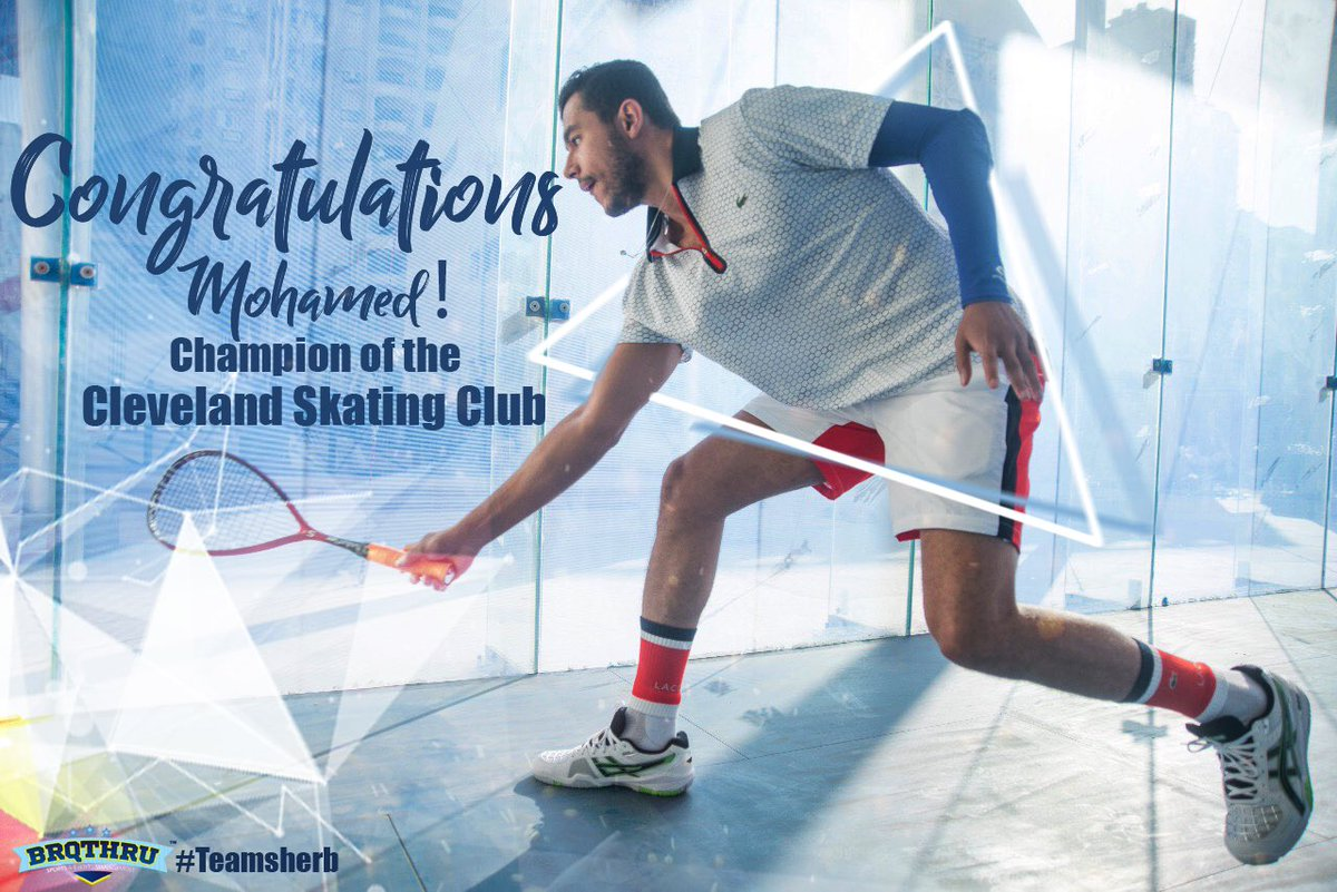 28 matches unbeaten ✅ 5th PSA title 🏆 ✅ Winning mentality ✅ Sherbini ✅ It's been confirmed, It runs in the family!   #teamsherb #brqthru