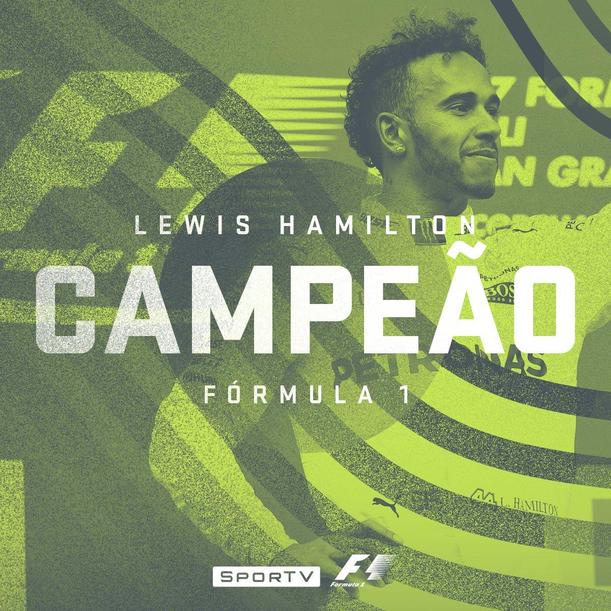 NÃO TEM JEITO! Lewis Hamilton conquista o Tetracampeonato na Fórmula 1! 🏆🏁#F1noSporTV