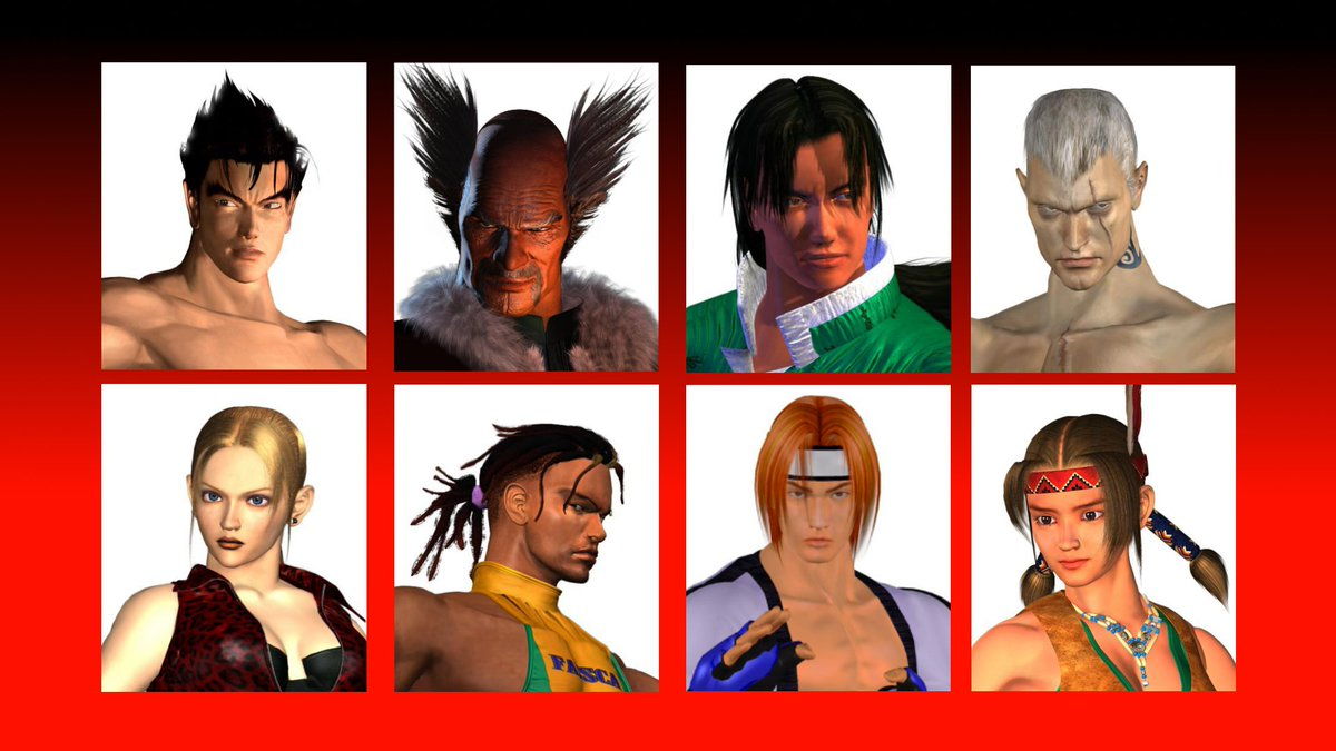 Jinkazshima On Twitter 1 2 Imagine A Tekken 3 Remake Remaster With Characters Having Facial Models That Actually Look Like The Ttt1 Character Cgi S But In Game Https T Co Bygnzmian4
