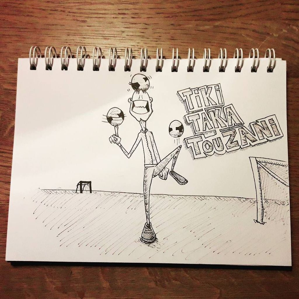 #inktober #inktober2017 day 29: united. #football #illustration #instadrawings @touzanitv challenges the top footb…  http:// ift.tt/2hkOiQ4  &nbsp;  <br>http://pic.twitter.com/JUrkLQKfWh