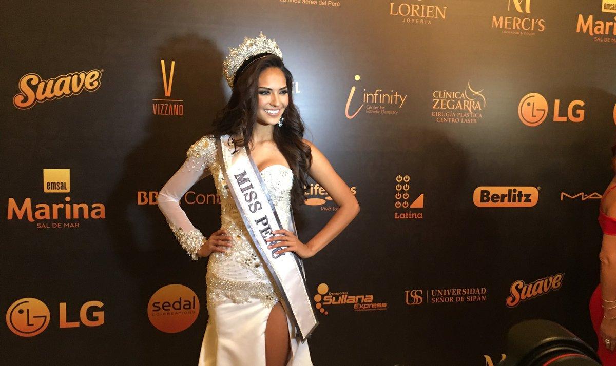 Romina Lozano (PERU 2018)  DNW3lUAVwAAtzz2
