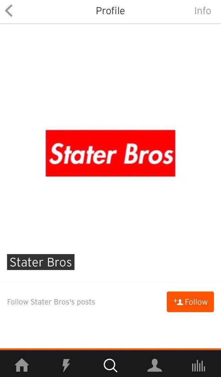 Stater Bros (@StaterBros_)   Twitter