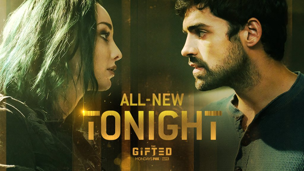 #Eclaris is back and better than ever. A new episode of #TheGifted airs TONIGHT at 9/8c! 💚🌑