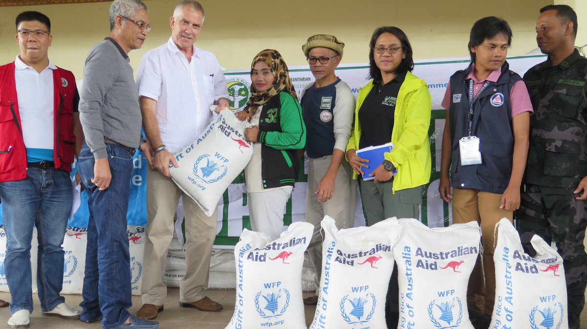 World Food Programme Philippines On Twitter The Australian Government Dfat Through Wfp Provides Rice To More Than 500 Families Affected By The Marawicrisis Https T Co Tezil5l1ba Https T Co Qradigvrmq