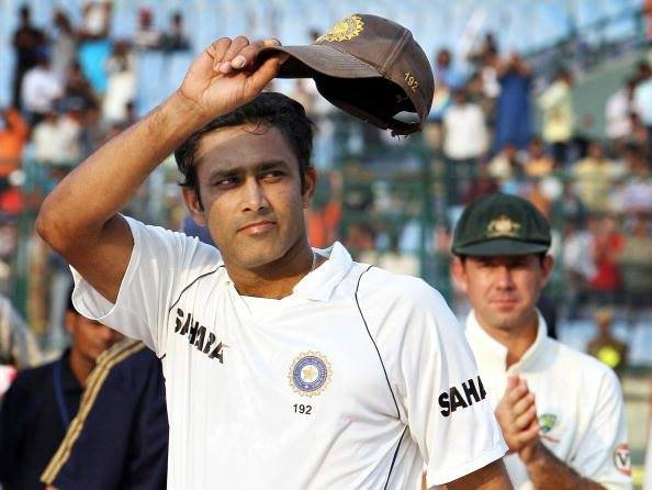 Here\s wishing a very happy birthday to former skipper Mr. Anil Kumble