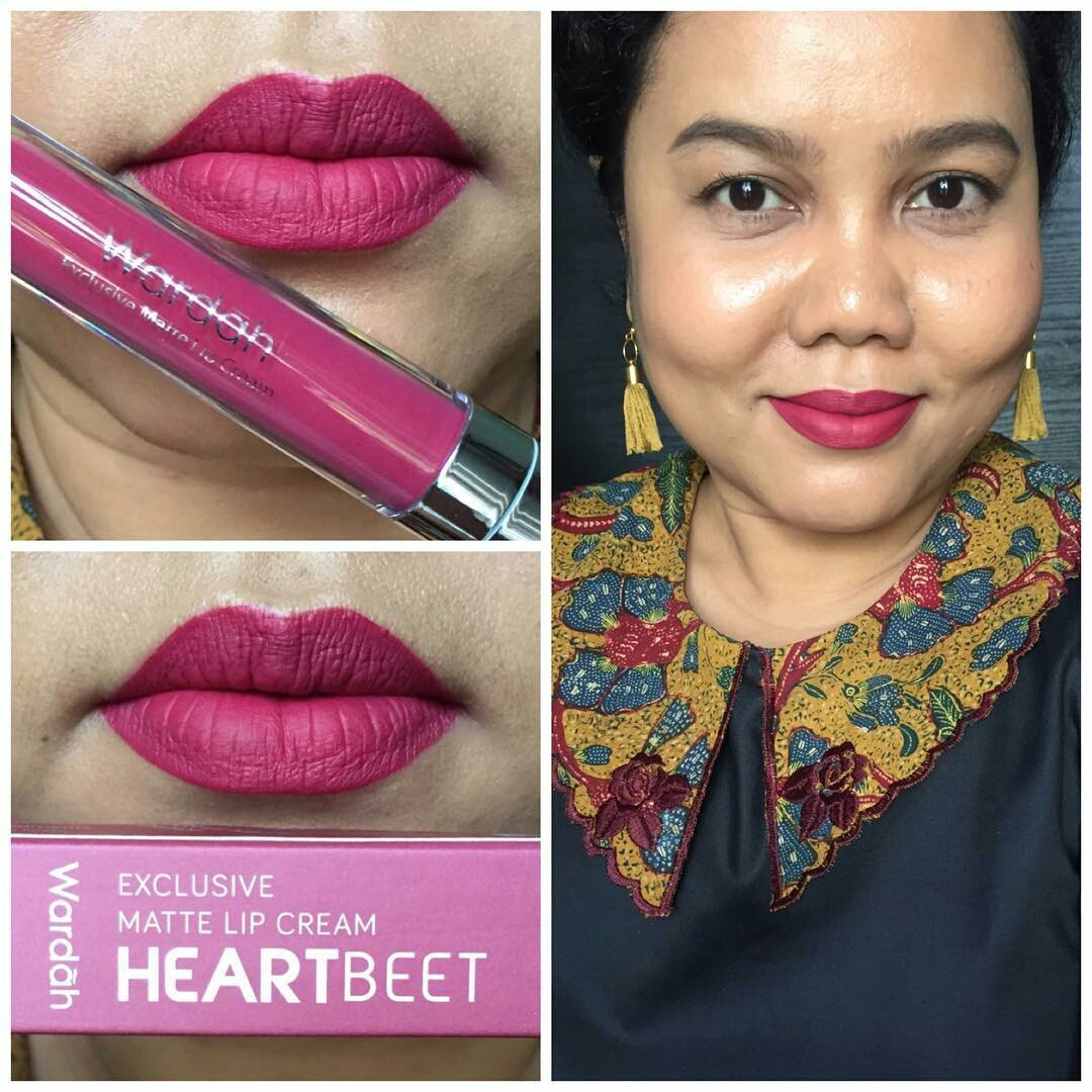 Wardah Exclusive Matte Lip Cream No 17 Rosy Cheek Daftar Harga Bella On Twitter 48rb Counter 62rb