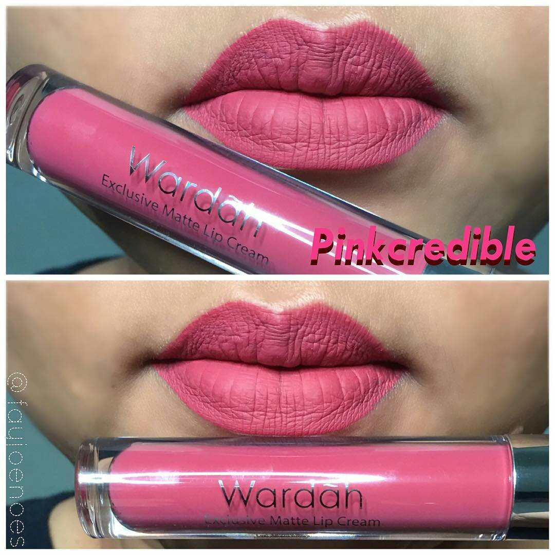 Bella On Twitter Wardah Exclusive Matte Lip Cream 48rb Counter Lipcream 433 Am 30 Oct 2017