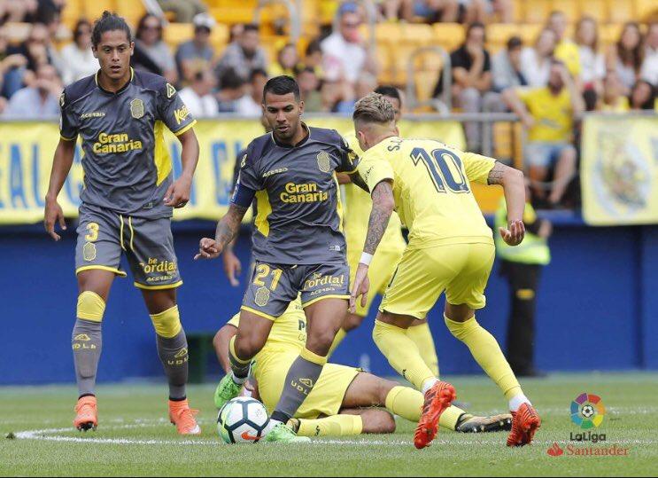 Partido importante el de hoy contra el #Deportivo, necesitamos que el #GC sea nuestro jugador 12 #VamosUD #VamosEquipo 💛💙