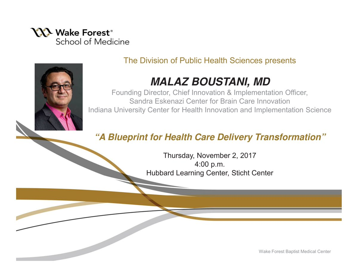 Wake forest ctsi on twitter wake forest phs will be hosting malaz wake forest ctsi on twitter wake forest phs will be hosting malaz boustani md of the sandra eskenazi center for brain care innovation on thursday malvernweather Gallery