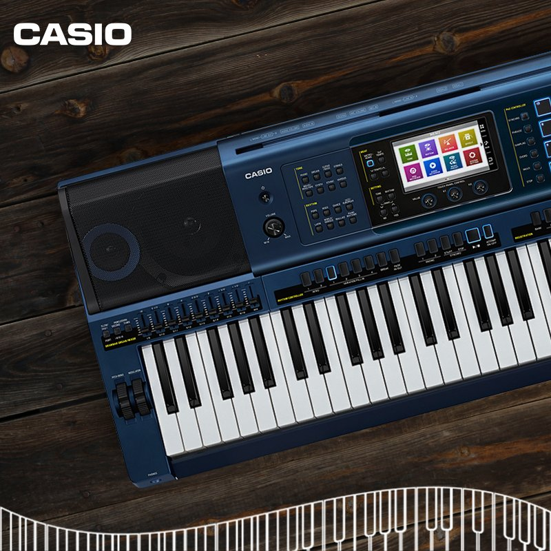 With its authentic sound, intuitive color touch interface and extensive control, enjoy the power of music with Casio MZ-X Music Arranger! https://t.co/BNLQOveThK