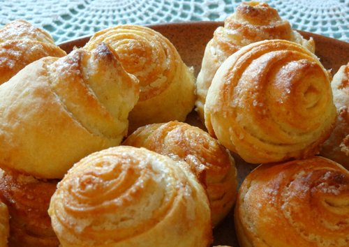 Рецепт булочек с сыром