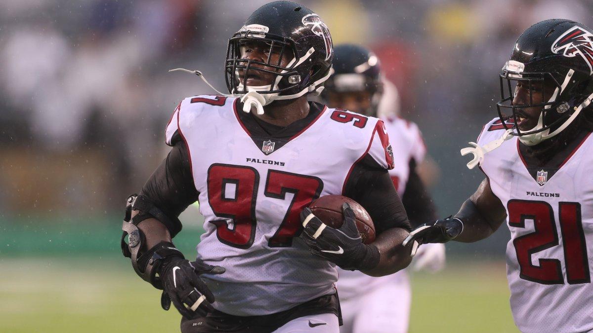 "Atlanta Falcons on Twitter ""Grady Jarrett took another step"