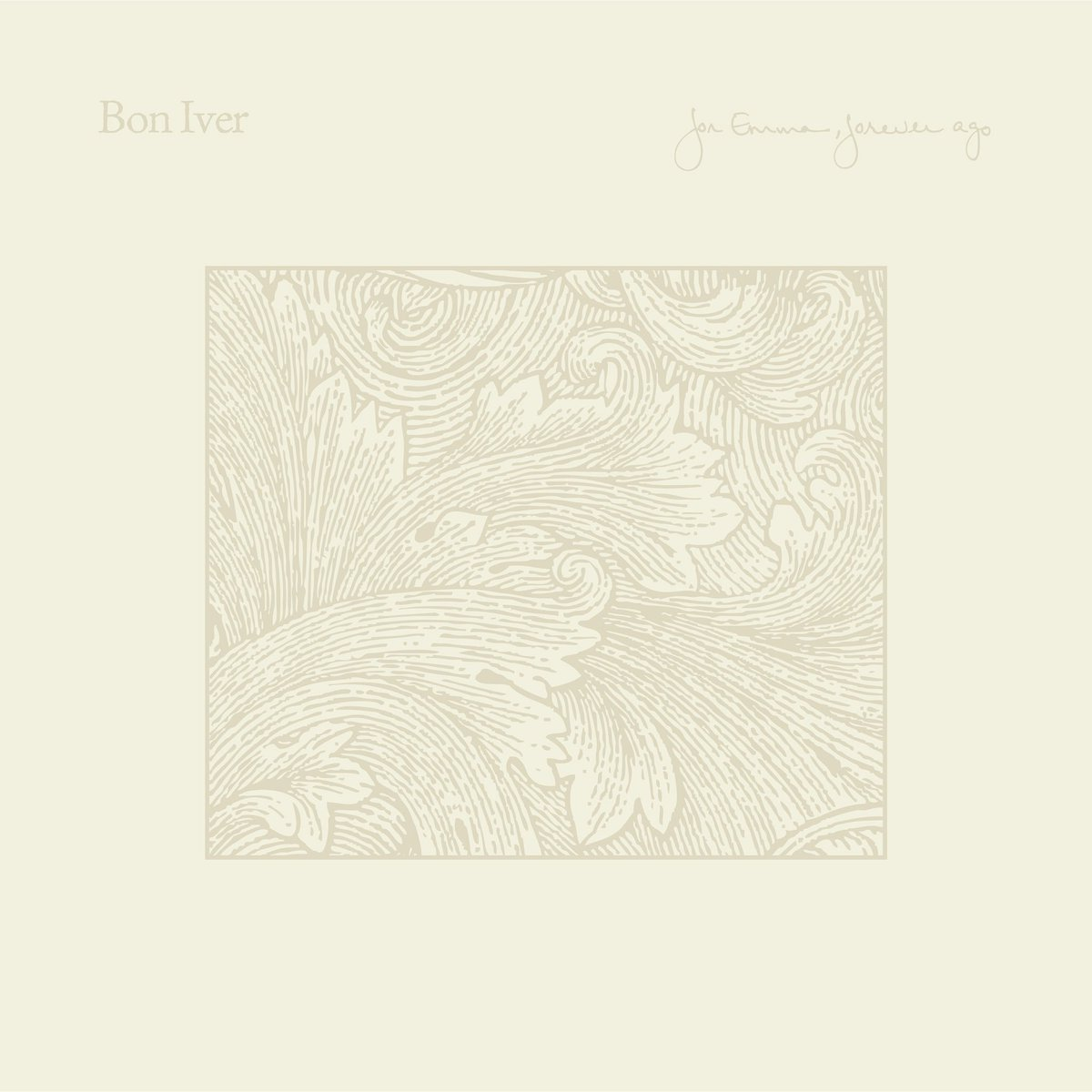 Bon Iver On Twitter For Emma Is 10 Were Reissuing On Lp Cd 2