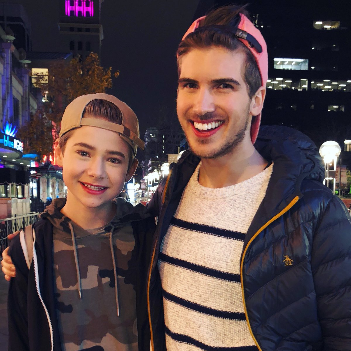 Joey graceffa on twitter so nice to finally meet my little sister joey graceffa on twitter so nice to finally meet my little sister jakewarden in denver last night so proud to watch him grow up youtube m4hsunfo