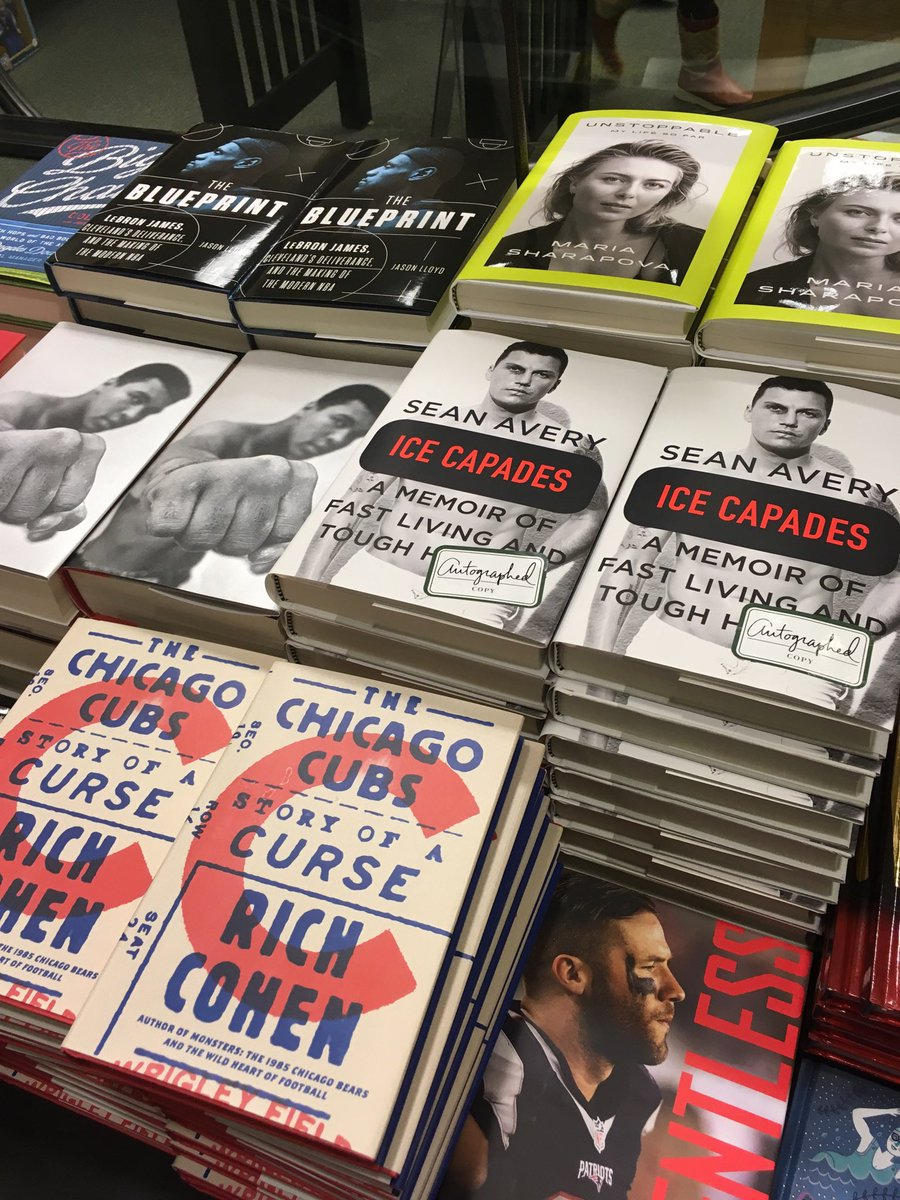 Sean avery on twitter just signed 15 copies of icecapades sean avery on twitter just signed 15 copies of icecapades bnfifthavenue nyc firstcomefirstserve malvernweather Gallery