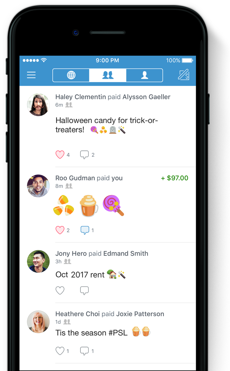venmo on twitter don t let your ious haunt you pay back friends rh twitter com