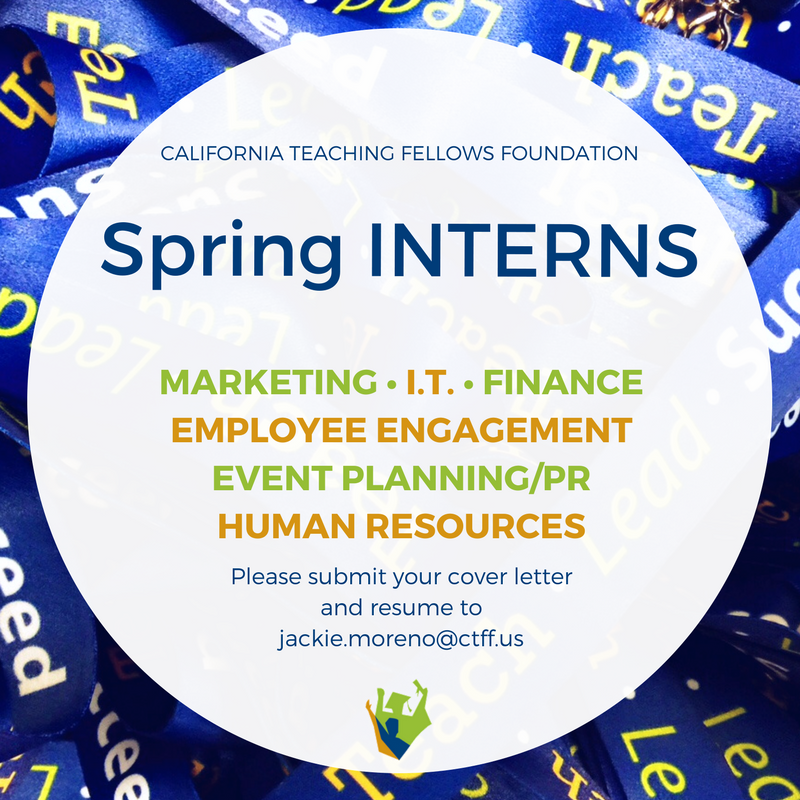 Ctff Is Now Accepting Cover Letters Resumes For The Spring Semester Email Jackie Moreno Us More Info Pic Twitter Com 7r8qttegh0