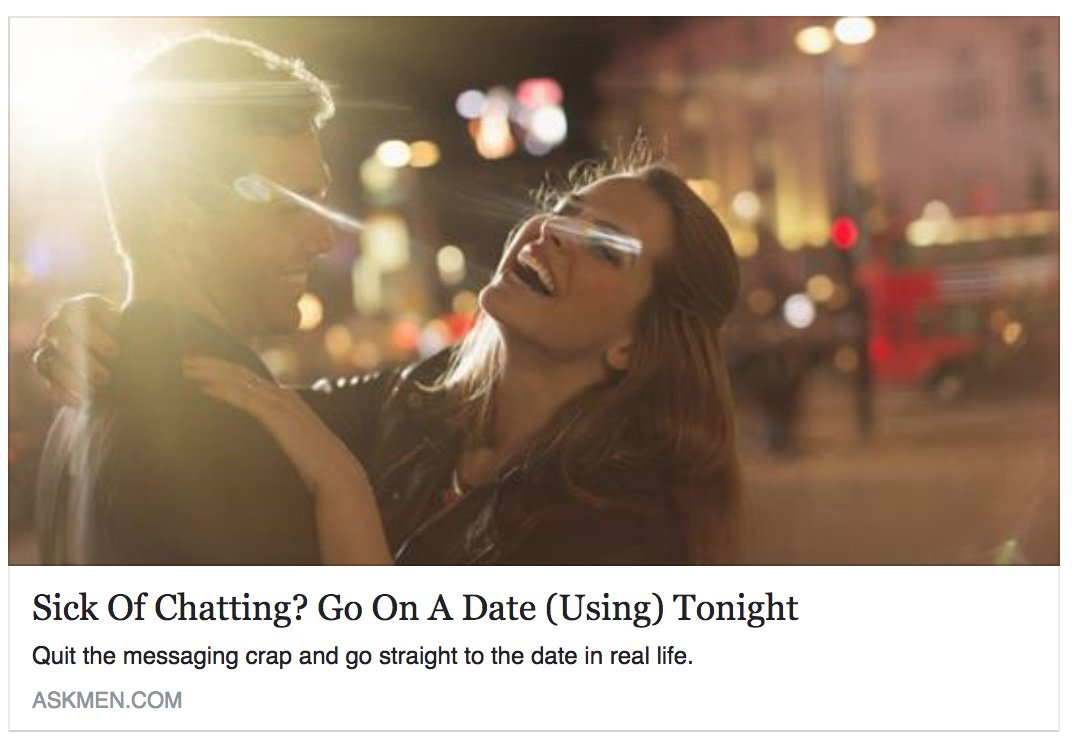 Online dating woes