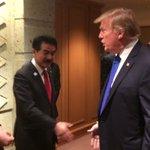 【トランプ大統領の見送り@帝国ホテル、側近のマクマスター氏やクシュナー氏とも】トランプ大統領は次の訪…