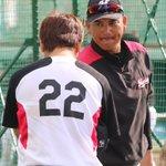 中村選手と田村選手は侍ジャパンに合流するため、本日で鴨川秋季キャンプを離れます。午前練習を終えた2人…