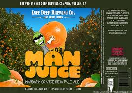「Knee Deep /MandarinJuice IPA  」の画像検索結果