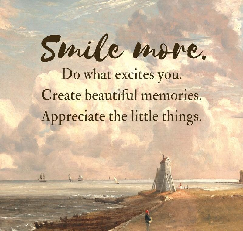 "Inspirational Quotes on Twitter: ""Smile more 😊. Do what ..."