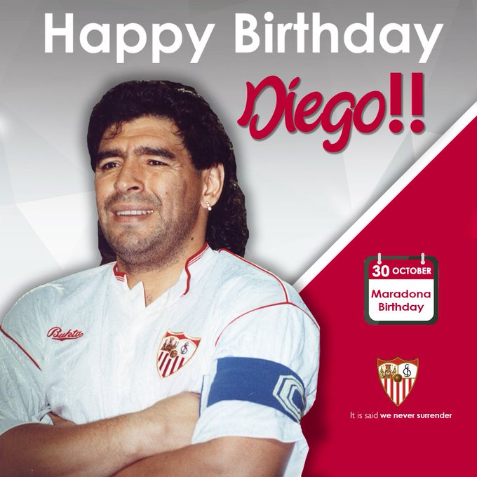 Diego Maradona's Birthday Celebration