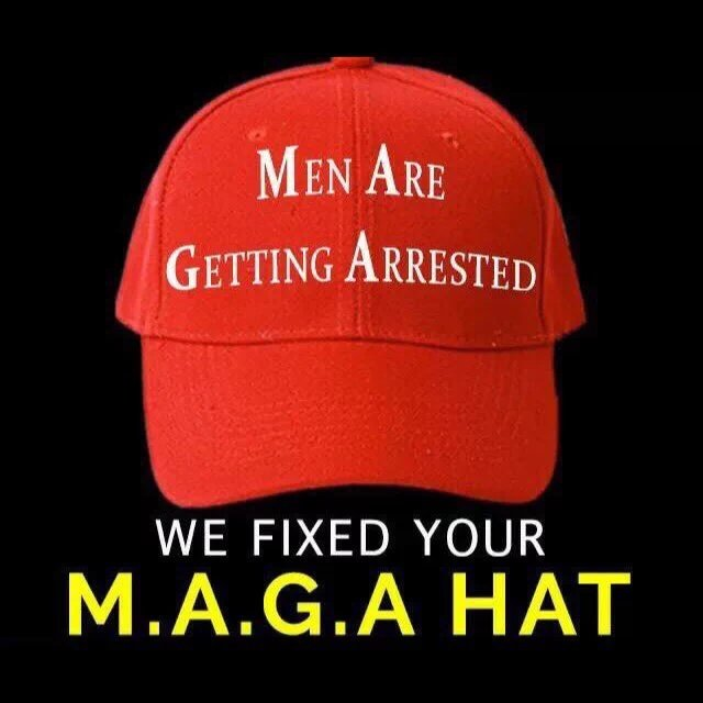 Image result for many are getting arrested hat