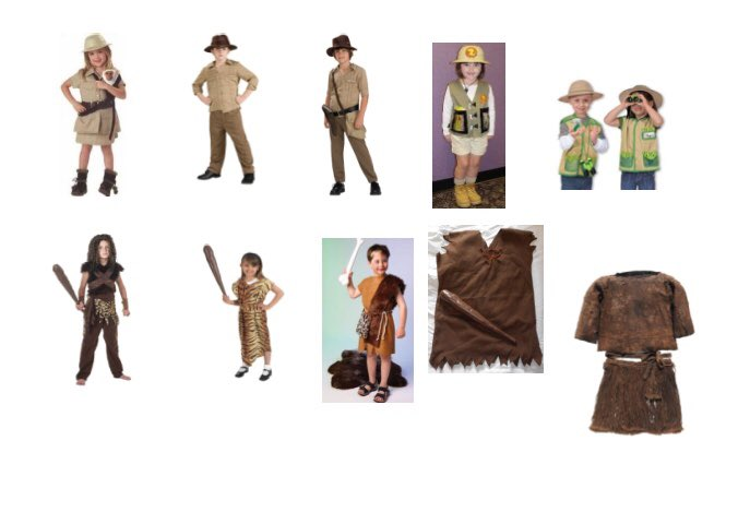 Costume Ideas For Stone Age Easy Craft