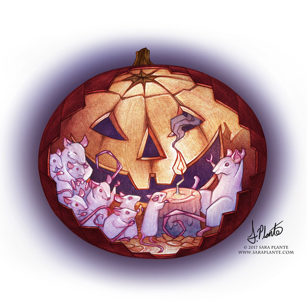 Sara Plante On Twitter Happy Halloween Carved Tales A Design For