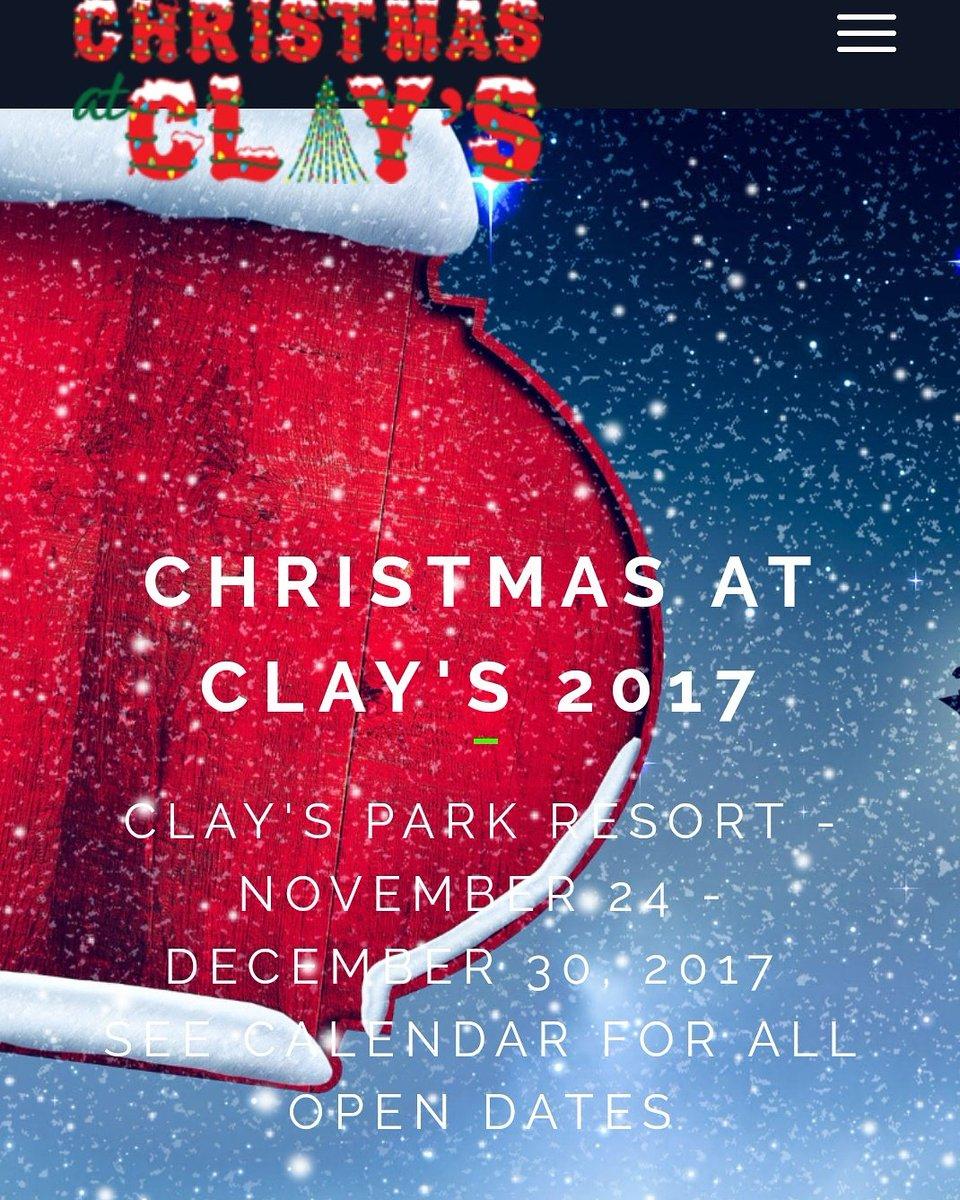 Clays Park Resort on Twitter: \