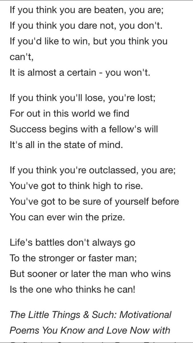 Griffin Greene On Twitter My Grandpas Favorite Poem Thanks For