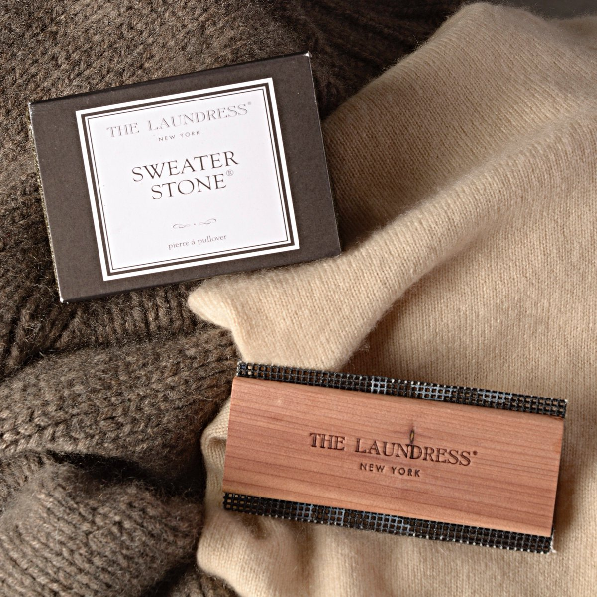 The Laundress On Twitter Both Sweater Comb And Stone Are Our Top Tools To De Pill Revitalize Knits
