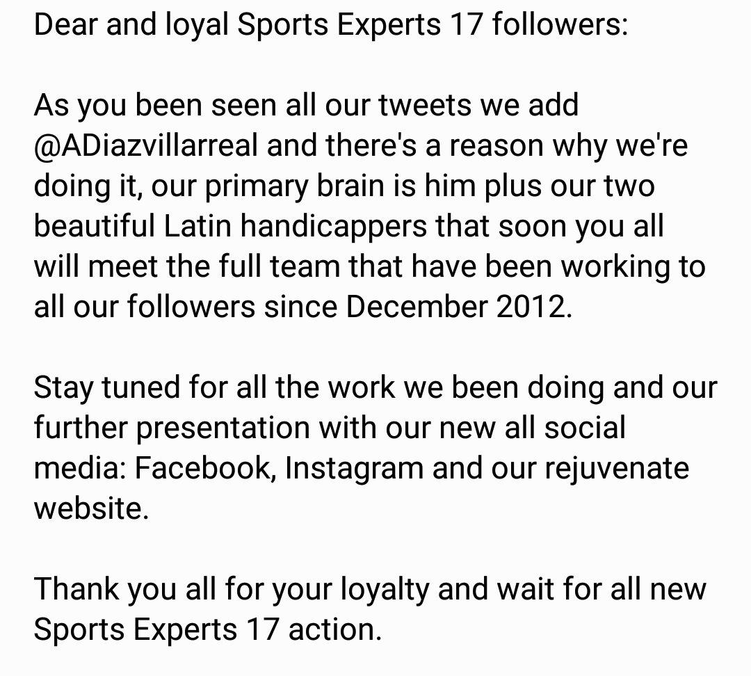 b2130a9f0c3 Sports Experts 17 on Twitter: