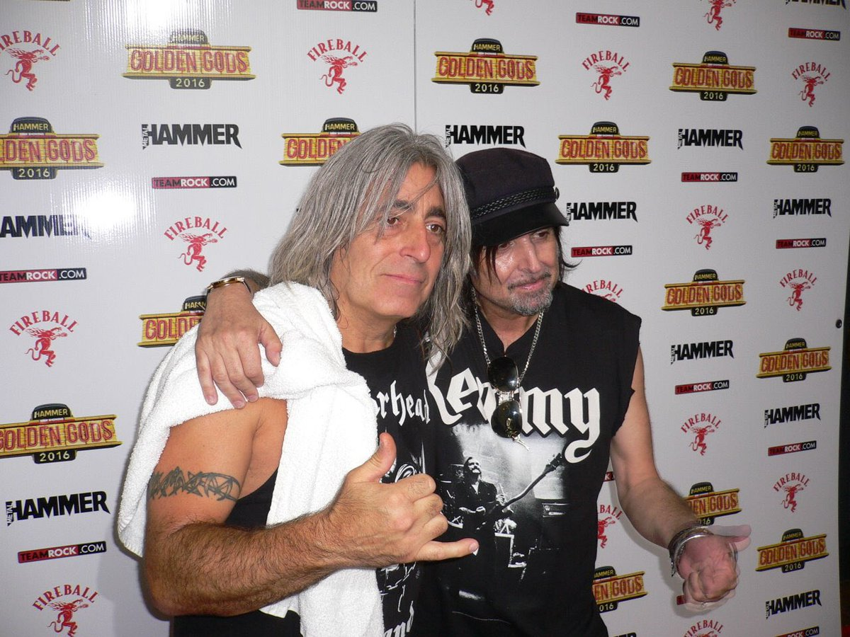 "Phil Campbell on Twitter: ""Happy birthday today to my brother Mikkey Dee… """