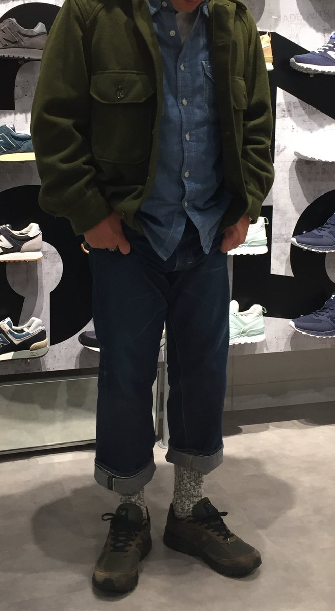 c9be7339d7306 今日のスタイルにかなりハマってますね! 着用モデル:M990MG4 #990V4 #お客様スナップ #スニーカースタイル #ニューバランス pic.twitter.com/9HW1deEhSb