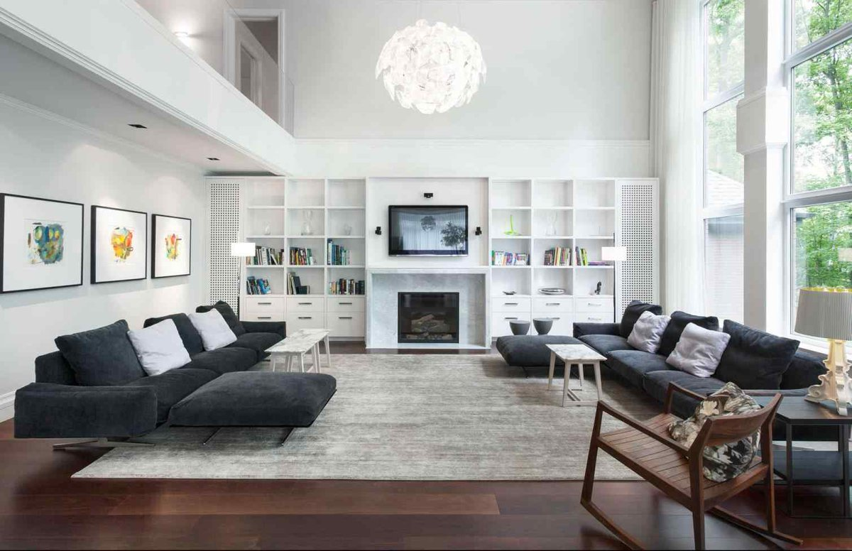 "oneil silaet on Twitter: ""New post (living room ideas with"