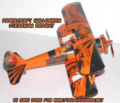 Halloween Bouwplaten.Ninjatoes Papercraft On Twitter Want A Free Plane For