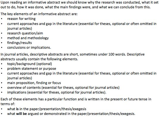 abstract and introduction in a thesis An abstract is a brief summary of a research paper, thesis, dissertation, etc it is characteristically found at the beginning of a document and it acts as an introduction, summary as well as a review of the whole document.