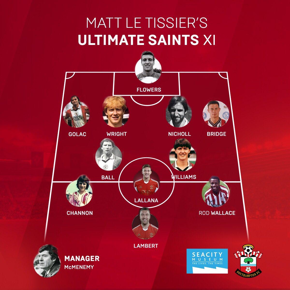 Southampton Fc On Twitter Saintsfc Legend Mattletiss7 Has Chosen His Fans Ultimate Xi What Would Yours Be Vote Here Https T Co Nhalgzekqv Https T Co Dmjyaiih69