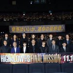 HiGH&LOW THE MOVIE 3FINAL MISSION 完成披露舞台挨拶#AKI…